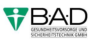 Logo Gesundheitsvorsoge und Sicherheitstechnik